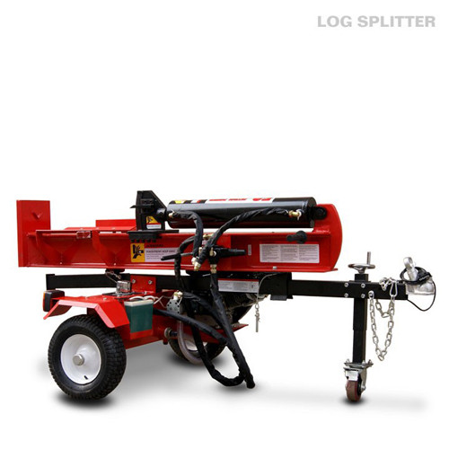 Automatic tractor Gasoline log splitter EPA 50 Ton , gas powered wood splitters