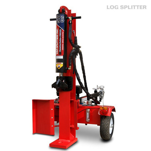 3 Position with auto - return control valve petrol hydraulic log splitter